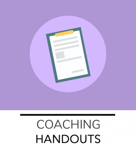 ACRES Coaching Handouts