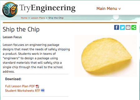ship the chip activity