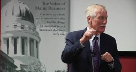 Angus King Speaks about STEM Guides Downeast Launched