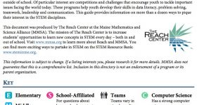 2015-2016 STEM Competitions and Challenges in Maine