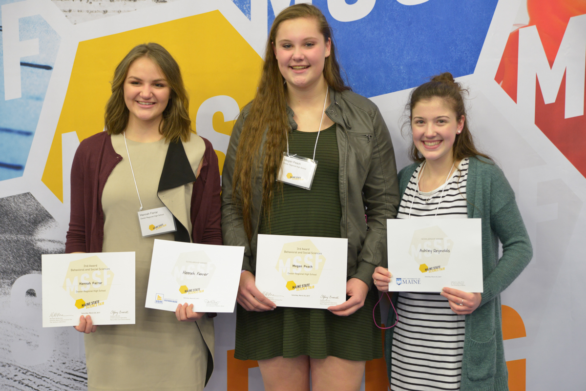 maine state science fair results plant sciences