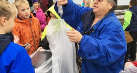 WeatherBlur Students Pick Up Trash in Searsport on News Center Maine