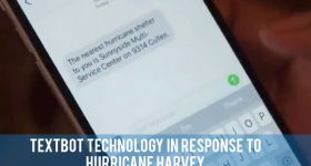 teen science cafes - hurricane harvey textbot
