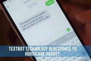 teen science cafes - hurricane harvey textbot