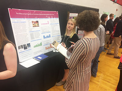 2018 Maine State Science Fair with MMSA