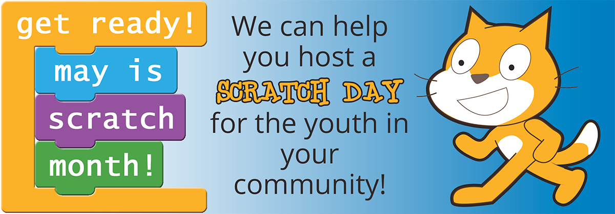 May is Scratch Month!