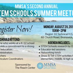 Register Now for STEM Schools Summer Meetup