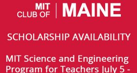 Scholarship Availability MIT Science and Engineering Program for Teachers